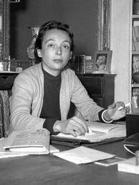 Marguerite Duras dans ses jeunes années