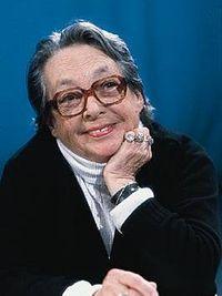 Marguerite Duras âgée